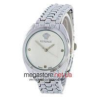 Женские наручные часы Versace серебро (23646) реплика