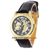 Мужские наручные оригинальные часы Winner (23658)