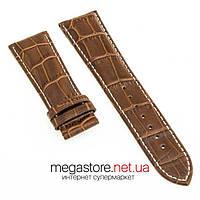 Кожаный ремешок для часов Patek Philippe коричневый 24х20 мм (07947), фото 1