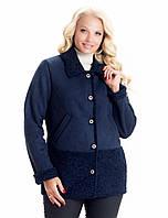Ультрамодная женская куртка дубленка, фото 1