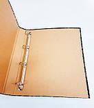 Папка с кольцами, 4 кольца, А4, 40 мм, КРАФТ, фото 6