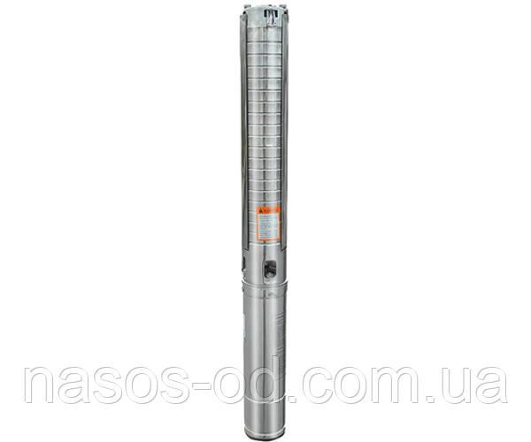 Насос центробежный глубинный Euroaqua 4SPM 2-9 для скважин 0.37кВт Hmax51м Qmax35л/мин Ø100мм (кабель 10м)