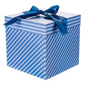Коробка подарочная Классика 22*22см (0355JH)