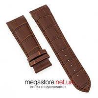 Кожаный ремешок для часов Tissot коричневый 22мм | 23мм | 24мм| (07930), фото 1
