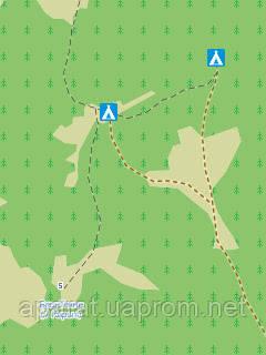 ТОПографическая карта с детальными тропами от OpenStreetMap для Garmin