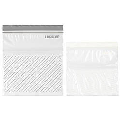 IKEA ISTAD (503.422.37) Пластиковый пакет, серо-белый