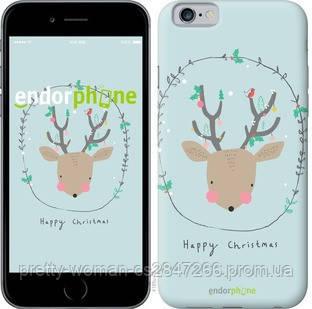 """Чехол на iPhone 6 Happy Christmas """"4185c-45-19414"""""""