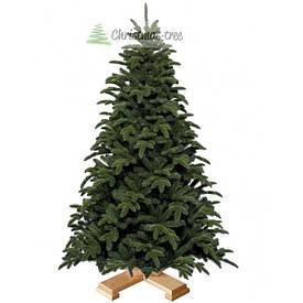 """Ялинка """"Naturelli"""" на дерев'яній підставці 155 + гірлянда у подарунок"""