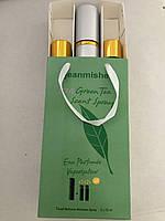 Женский мини набор духов jeanmishel Love Green Tea Scent Spray 3*15мл