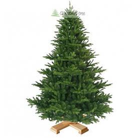 """Ялинка """"Дика"""" на дерев'яній підставці 155 + гірлянда у подарунок"""