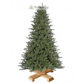 """Ялинка """"Грецька"""" на дерев'яній підставці 155 + гірлянда у подарунок"""
