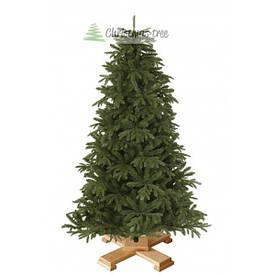 """Ялинка """"Корейська"""" на дерев'яній підставці 155 + гірлянда у подарунок"""