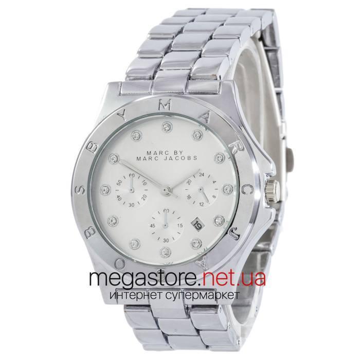 72d96caed98b Женские наручные часы Marc Jacobs серебро (24294) реплика, цена 539 грн.,  купить в Киеве — Prom.ua (ID#888993280)