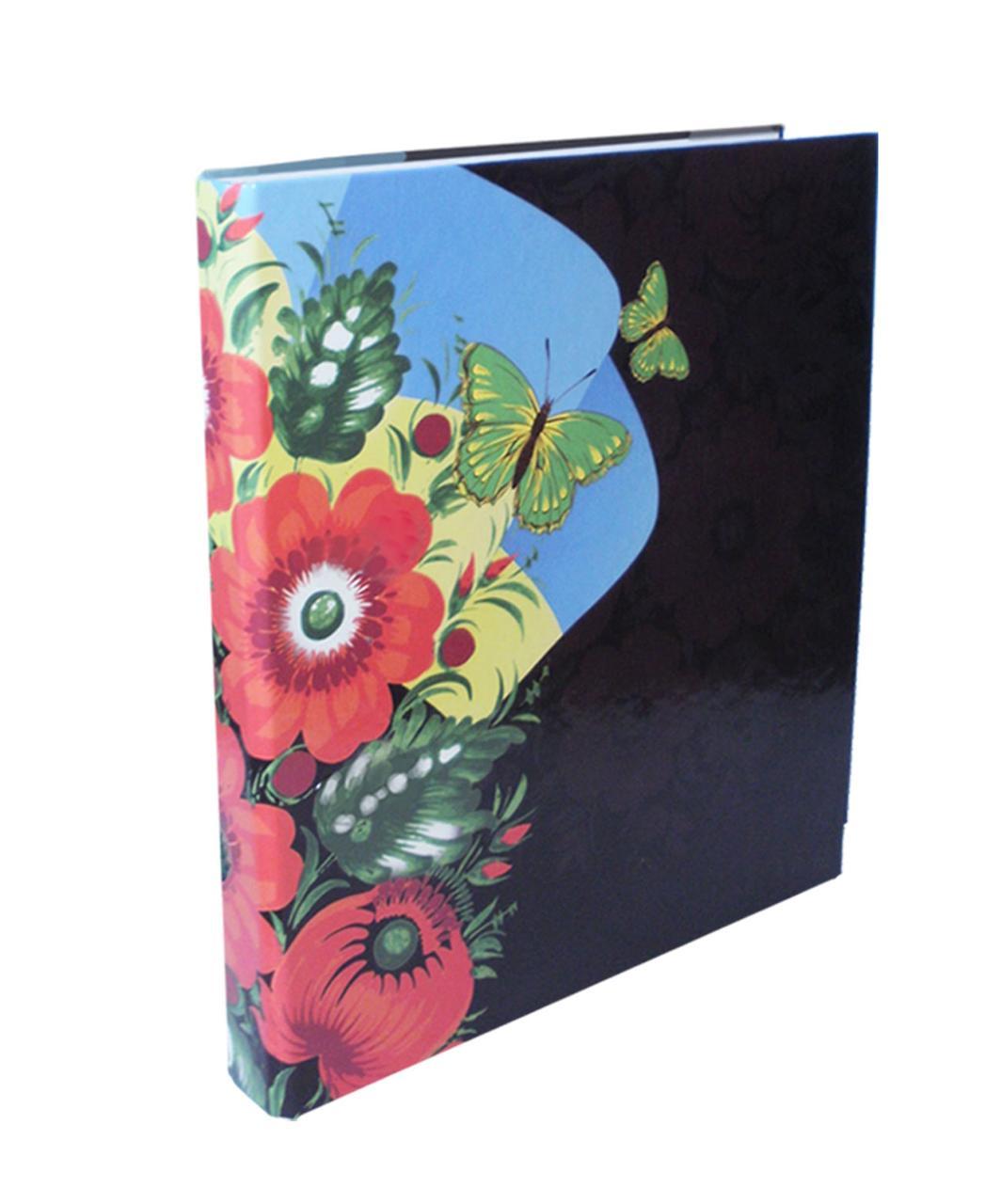 Папка с кольцами, 2 кольца, А4, 40 мм, полноцветная, PP-покрытие
