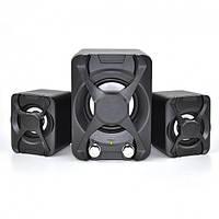 Колонки 2.1 FT XSD 2 Black USB multimedia speaker, фото 1