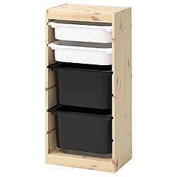 IKEA TROFAST (392.408.91) Шкаф с контейнерами