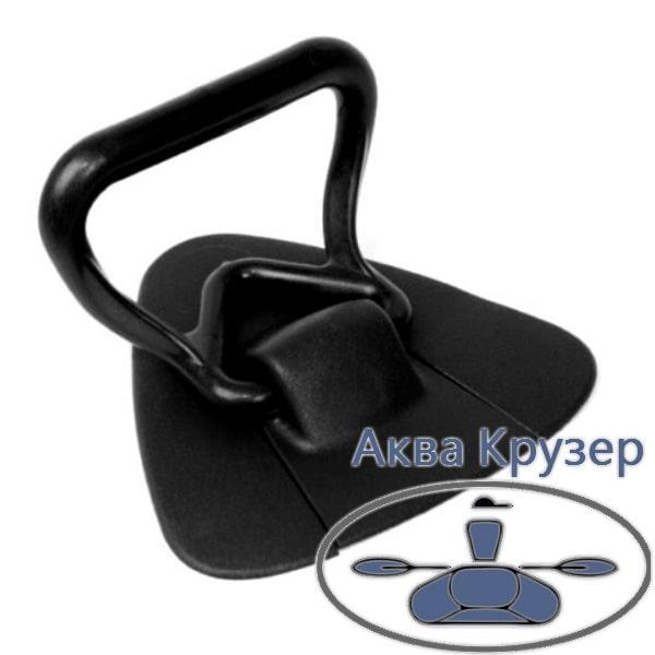 Ручка рим буксир носової - Носова універсальна для надувних човнів ПВХ, колір чорний
