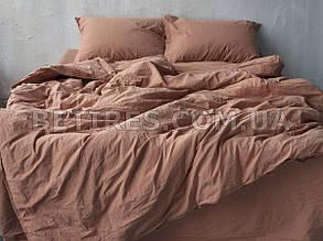 Комплект постельного белья 200x220 LIMASSO COMMENCER STANDART кирпичный