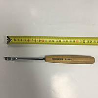 Стамеска-клюкарза полноразмерная, полукруглая, право-скошенная Pfeil SWISS MADE No 2a/8r