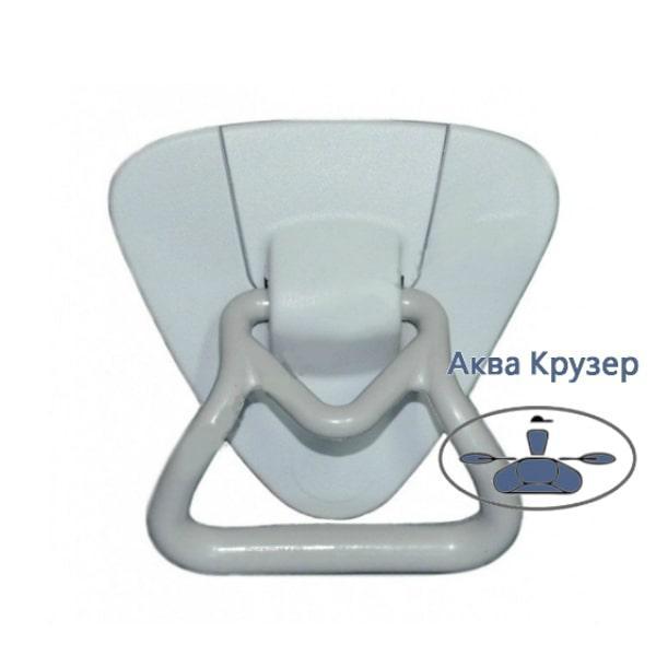 Ручка рым-буксир - Носовая универсальная для надувных лодок ПВХ, цвет серый