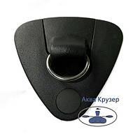Буксировочный узел с кольцом (нержавеющая сталь) для надувных лодок ПВХ, фото 1