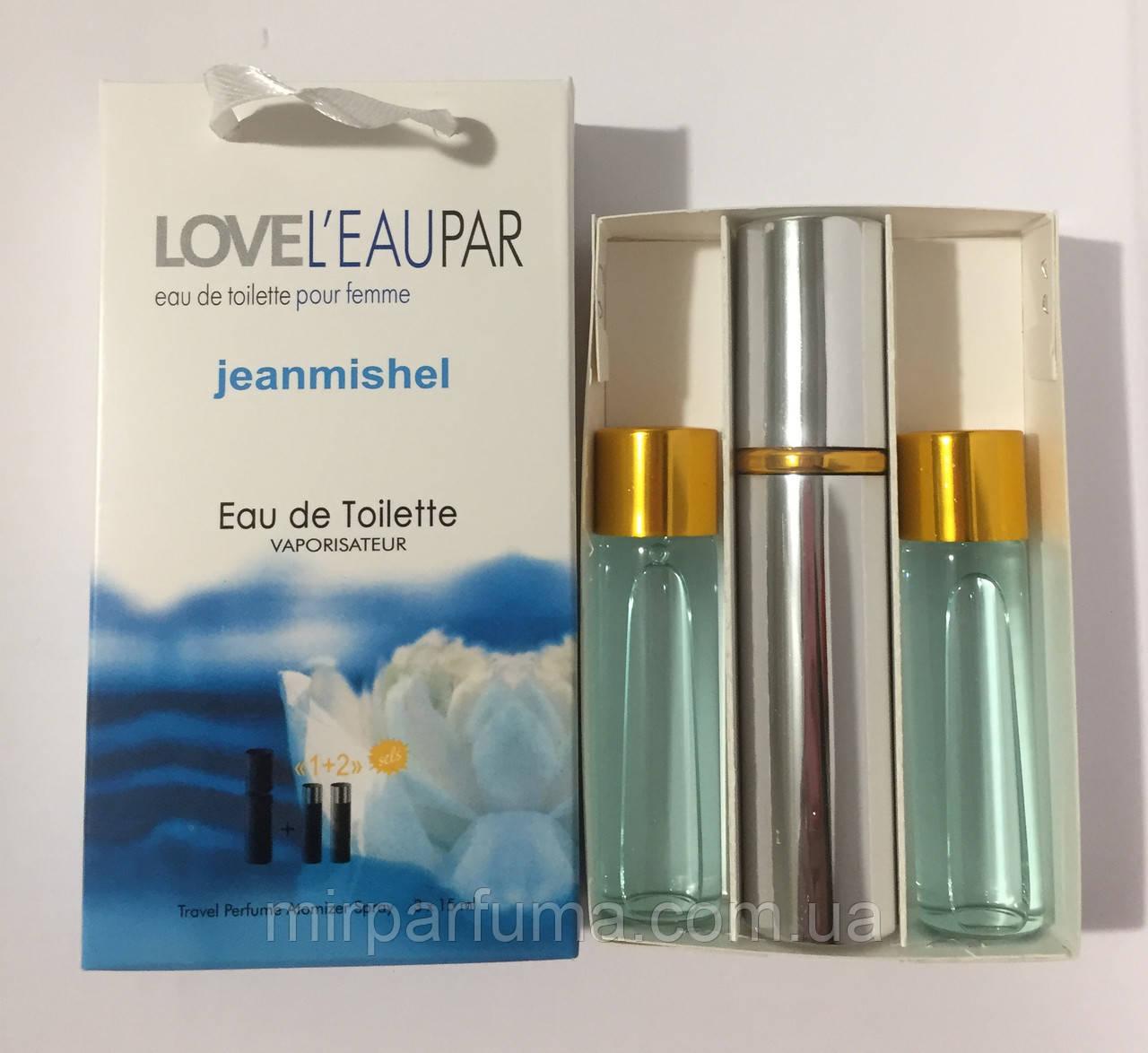 Міні духи в наборі 45ml jeanmishel Love Leu Pear Woman оптом