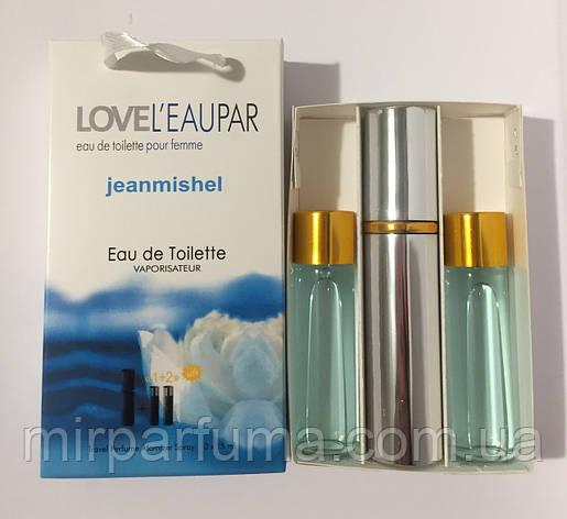 Міні духи в наборі 45ml jeanmishel Love Leu Pear Woman оптом, фото 2
