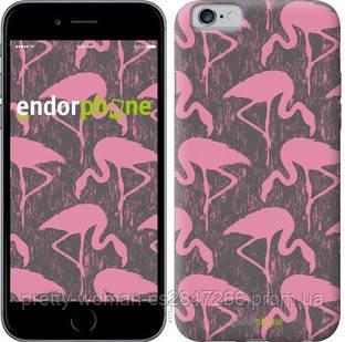 """Чехол на iPhone 6s Vintage-Flamingos """"4171c-90-19414"""""""