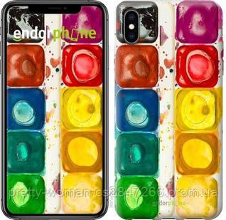 """Чехол на iPhone XS Max Палитра красок """"2837c-1557-19414"""""""