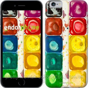 """Чехол на iPhone 6 Палитра красок """"2837c-45-19414"""""""