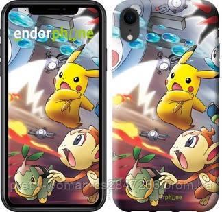 "Чехол на iPhone XR Покемоны pokemon go v2 ""3771c-1560-19414"""