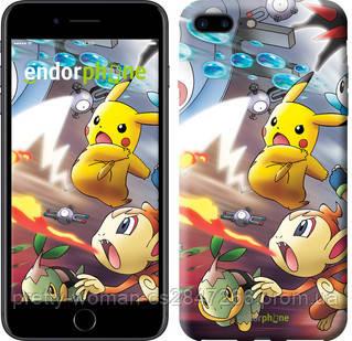 """Чехол на iPhone 7 Plus Покемоны pokemon go v2 """"3771c-337-19414"""""""
