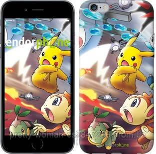 """Чехол на iPhone 6 Plus Покемоны pokemon go v2 """"3771c-48-19414"""""""