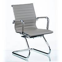 Кресло Солано CF на полозьях серый