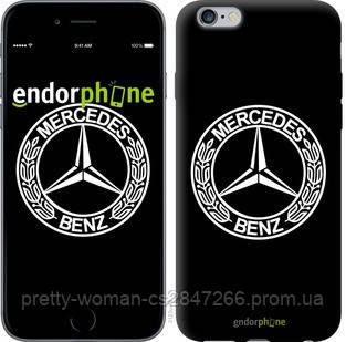 "Чехол на iPhone 6s Plus Mercedes Benz  v2 ""3123c-91-19414"""