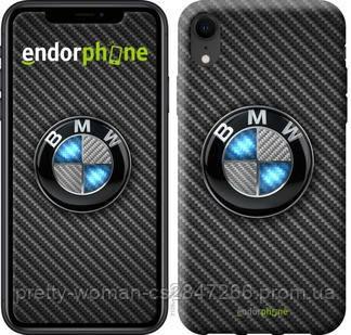 """Чехол на iPhone XR BMW. Logo v3 """"3109c-1560-19414"""""""