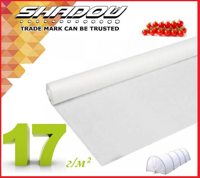 "Белое 4% агроволокно 17 г/м² (3.2 х 100 м.) ТМ ""Shadow"" (Чехия)"