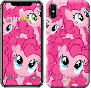 """Чехол на iPhone XS Пинки Пай """"3547c-1583-19414"""""""