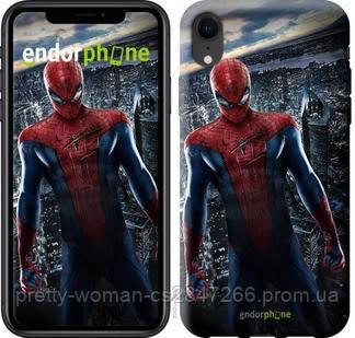 "Чехол на iPhone XR Новый Человек-Паук ""3042c-1560-19414"""