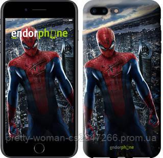 "Чехол на iPhone 8 Plus Новый Человек-Паук ""3042c-1032-19414"""