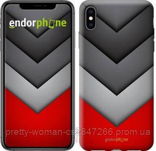 """Чехол на iPhone XS Max Цветная геометрия """"3024c-1557-19414"""""""