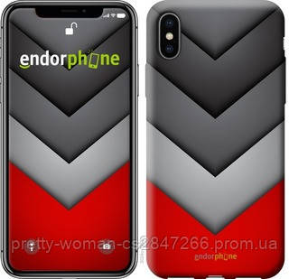 """Чехол на iPhone XS Цветная геометрия """"3024c-1583-19414"""""""