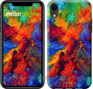 """Чехол на iPhone XR Акварель на холсте """"4150c-1560-19414"""""""