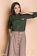 9134ed0e66b Женская Рубашка в Стиле Милитари — Купить Недорого у Проверенных ...