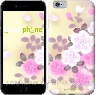 "Чехол на iPhone 6 Японские цветы ""2240c-45-19414"""