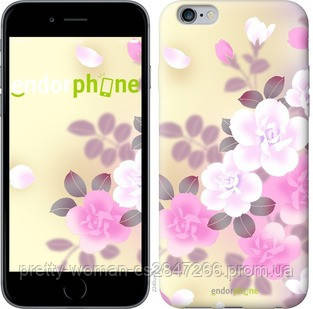 "Чехол на iPhone 6s Plus Японские цветы ""2240c-91-19414"""