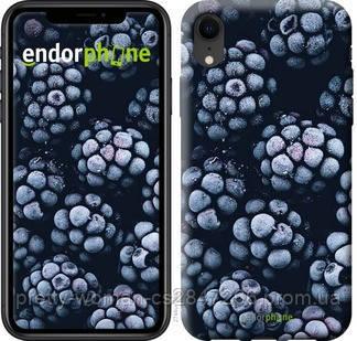 """Чехол на iPhone XR Морозная ежевика """"2744c-1560-19414"""""""