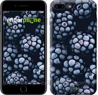 """Чехол на iPhone 7 Plus Морозная ежевика """"2744c-337-19414"""""""