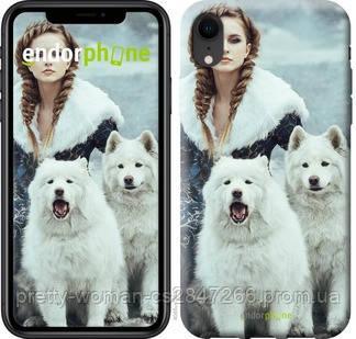 "Чехол на iPhone XR Winter princess ""4048c-1560-19414"""