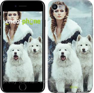 "Чехол на iPhone 7 Winter princess ""4048c-336-19414"""